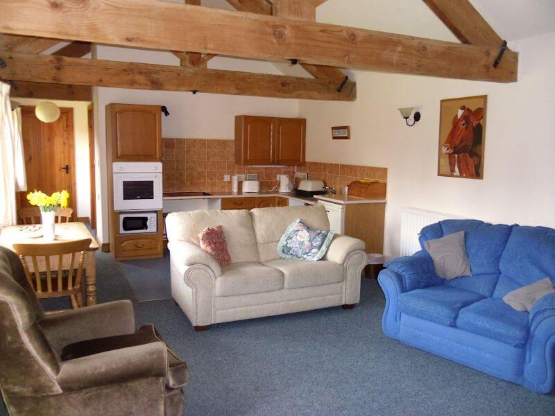 Kingfisher Cottage Living Room