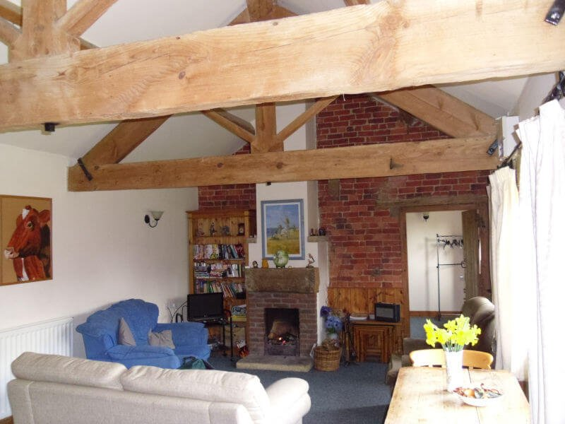 Kingfisher Cottage Living Room